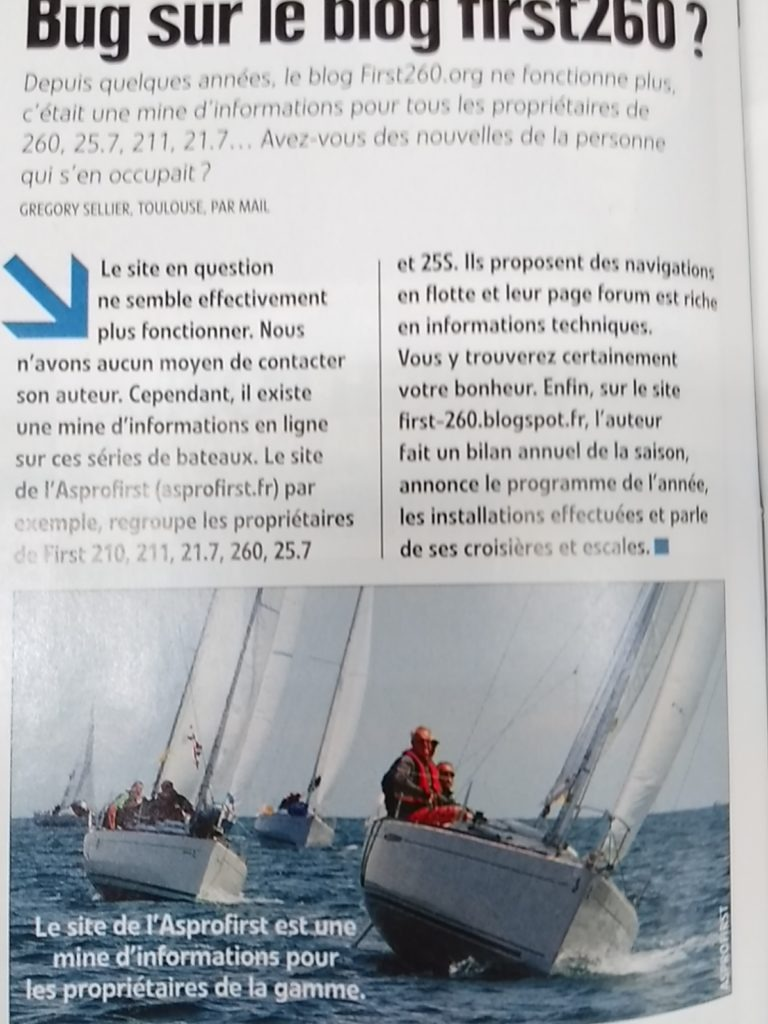 Article voile Mag. 07-2016